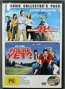 Runaway Vacation + ARE WE THERE YET DVD - 2 Disc DVD (Pal, 2006) Free Post