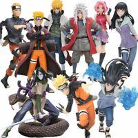 Naruto Shippuden Uzumaki Sasuke Sakura Tsunade Hinata Minato PVC Action Figures