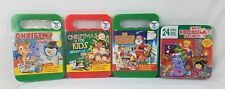Set Of 4 Christmas Kids Music CD's with Activities