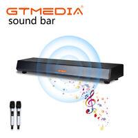 GTmedia 4K microfono karaoke DJ Media Player 3D Bluetooth TV Barra CDG/DVD/MP3G