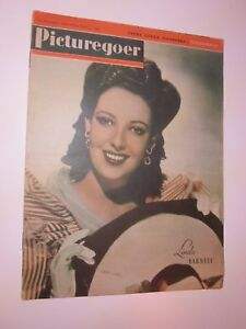 1944 Picturegoer Film Weekly  August 5 Linda Darnell on cover
