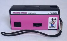 Eastman KODAK Mickey Matic Disney Pink Pocket Film Camera USA