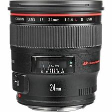 Canon EF 24mm F/1.4 II EF L USM Lens