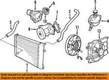 SAAB OEM 03-11 9-3-Engine Water Pump 12630084
