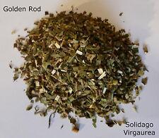 Goldenrod Golden Rod(Solidago Virgaurea) Dried Chopped Herbal 25g Organic