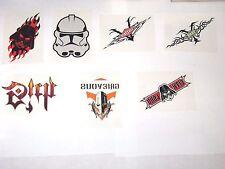 2005 STAR WARS REVENGE OF SITH TEMPORARY TATTOO INSERT 7 CARD LOT! DARTH VADER!!