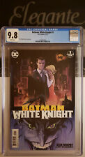 🏁Batman White Knight 1 CGC 9.8 WHITE PAGES 🏁Sean Murphy/Matt Hollingsworth Reg
