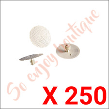 KNAUF 904019 - 250 capuchons plastique clarté pour chevilles FIB M et FIB M CC