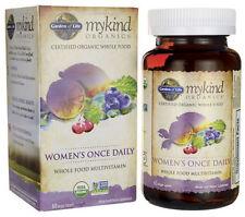 Garden of Life MyKind Organics Women's Once Daily Multivitamin 60 Vegan Tablets
