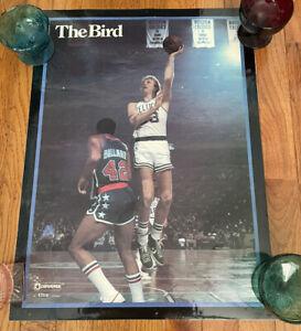 "RARE Vintage 1979 Converse Larry Bird Boston Celtics 17x23"" poster"