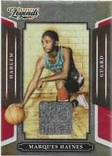 2008 Sports Legends - MARQUES HAYNES - Player Worn Relic - HARLEM GLOBETROTTERS