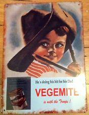 Vegemite, Metal / Tin, Sign / Plaque, Advertising, Kitchen, New