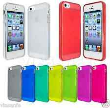 Cover Custodia Per iPhone 4S 4 Silicone Flessibile Gel 6 Colori Trasparenti Slim