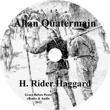 Allan Quatermain, Africa Adventure Audiobook by H Rider Haggard on 1 MP3 CD