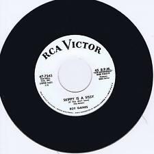 ROY GAINES - SKIPPY IS A SISSY b/w BOB CALLAWAY - NATIVE - HOT WILD BLACK JIVER
