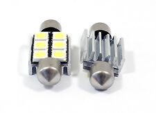 White 6418 Error Free Interior Dome Lighting Lights Bulbs Festoon For Audi