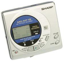 Sharp MD-MT15S Portable MiniDisc Player/Recorder