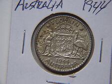 1944 AUSTRALIAN FLORINCONTAINING .3360 TROY OZ SILVER AU