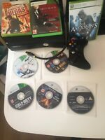Xbox 360 slim console bundle 250gb Plus 8 Quality Games , Quality Controller