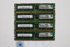 32GB (4x8GB) 2Rx4 PC3 10600R HP PN 500205-071 1333MHz Samsung Server RAM ecc reg