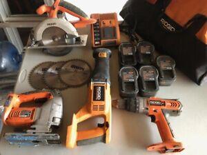 Ridgid 18V Cordless Tool Set