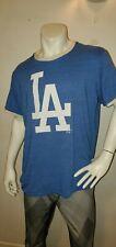 MLB Los Angeles Dodgers Fanatics XL Tshirt Crew Neck Mens Royal Blue PRE-OWNED