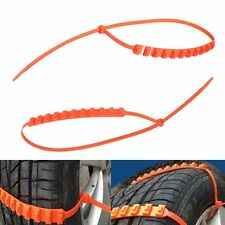 Anti-skid Chains for Automobiles Snow Mud Wheel Tyre Car/Truck Tire Cable Ties