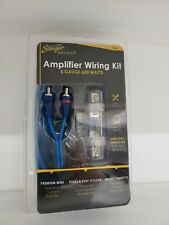 Stinger Select Amplifier Wiring Kit 8 Gauge 600 Watt BRAND NEW