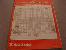 Suzuki Atv & Motorcycle Wiring Diagrams Manual 1994 99923-13941