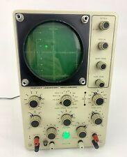 Heathkit Trace Oscilloscope Io 18 Test Lab Equipment Powers On Works