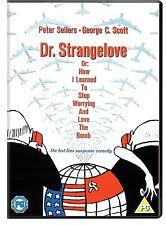 Dr Strangelove DVD Doctor Peter Sellers Stanley Kubrick Original UK Rel R2 New