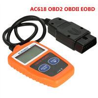 NEW AC618 OBD2 OBDII EOBD Diagnostic Data Car Fault Code Reader Engine Scanner