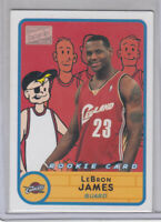 LeBRON JAMES 2003-04 Topps Bazooka #276 Rookie RC Cavaliers Lakers EX READ