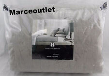 Hotel Collection Eclipse FULL / QUEEN Quilted Coverlet Gray