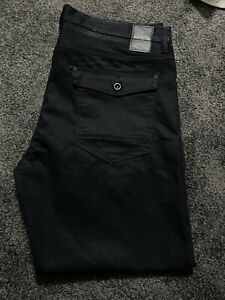 Sean John Hamilton Classic Relaxed Fit Black Size 38x32