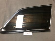 2016-2018 Jeep Grand Cherokee OEM RH PASSENGER  Quarter Window Glass BLACK