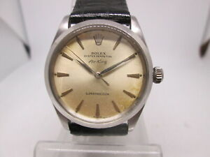 VINTAGE ROLEX OYSTER PERPETUAL AIRKING 1002/1530 SS AUTOMATIC MENS WATCH