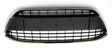 NEW FORD FIESTA MK7 2008-2012 FRONT BUMPER CENTER LOWER GRILLE BLACK CHROME TRIM