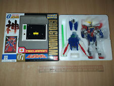 Used Bandai Gundam G Neo Japan 01 God Sliver Hyper Mode Figure Box C8 HK 1998
