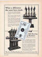 Avey Drilling Machine Co. - Defiance Machine Works - 1927 advertising