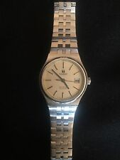 tissot Seastar Quartz Women's Watch Vintage All Stainless Steel Silver Dial