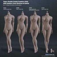TBLeague S09C 1/6 Phicen Weibliche Figur Körpermodell Suntan Large Bust Doll