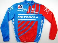 Motorola 1992/93 Giordana cycling Lance Armstrong jersey jacket fleecy vintage M