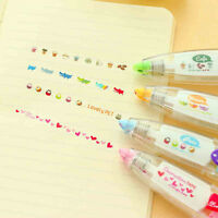 Creative Stationery Push Correction Tape Lace for Diary Tags Sign School New
