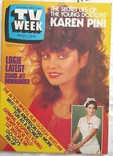 TV Week 1982,KAREN PINI Young Doctors Cvr,Sullivans,Restless Years,Sons Daughter