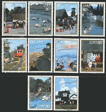 Japan 2008 Hometown Scenes In My  Heart 1st Issue set of 10 Fine Used
