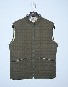 DUNHILL Mens RARE Cotton London Map Vest Size L