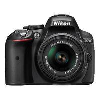 Nikon D5300 24.2 MP Digital SLR Camera with 18-55mm VR AF-P DX Lens (Black)