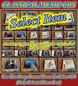 Classical Music CDs - Songs of Praise, Mozart, Baroque + More (Select Item) Used