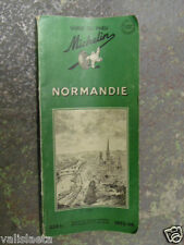 GUIDE MICHELIN NORMANDIE 1953-1954 COMPLET